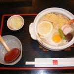 さぬきうどんのことひら - 料理写真:当店人気No.1! なべ焼きうどん 1000円