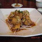 chuugokuryouritoukou - 本日のランチ 選択1:鶏肉の唐揚げ 油淋ソース