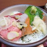 58800093 - ミニ海鮮丼(三味御膳)