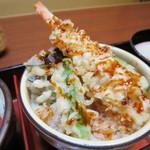 58800096 - ミニ天丼(三味御膳)