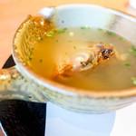 松魚亭 - 料理写真:のどぐろ頭出汁