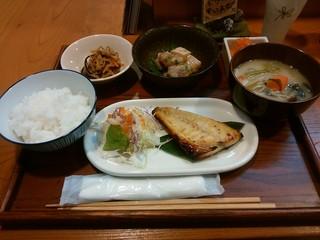 まちDeli かくれわ食堂 - 「おばんざいランチ」850円(h28.11.14)