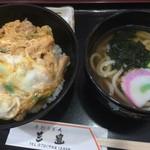 58802292 - 親子丼・ミニうどん付き(¥800)