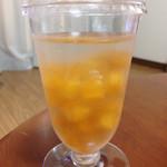 杉山フルーツ店 - 次郎柿の生ゼリー