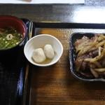 ごはん家 くらた - 料理写真:豚生姜焼き定食@850