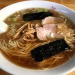 中華亭 - 2016.11.07中華そばダブル。今日も安定の美味しさでした