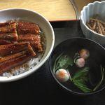 美濃 - 料理写真:うなぎ丼 ¥1700