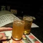 Foods bar 栞屋 - 八橋梅酒、玉露梅酒