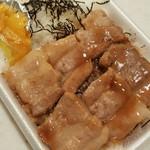み義 - 料理写真:ぶた串弁当(タレ) 420円