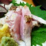 土佐鮨処康 - のどぐろの炙り