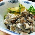 土佐鮨処康 - 地牡蠣ポン酢
