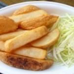 カトマンドゥ - オリジナルソルトカキ塩ポテト(Fried Potato) 500円