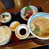 わらじや - 料理写真:大和路うどん わらじや よこわ刺身定食 930円