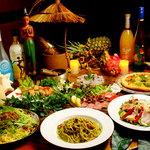 クラッシーズ - バラエティーに富んだコース料理!
