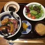 Mikagekura - 宮崎和牛ステーキ丼 2,800円(税込)