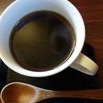 茶座 - 日替り定食に付くコーヒー