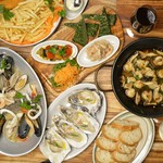 SAKE×牡蠣鉄板 港町バル - 料理コースイメージ