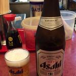 九州ラーメン一品香 - ビンビール♪