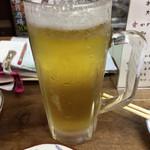 八栄亭 - 2016.11.11  生ビール