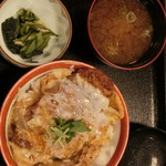 しゃくなげの湯お食事処 有明庵 - '16、11、14 煮かつ丼