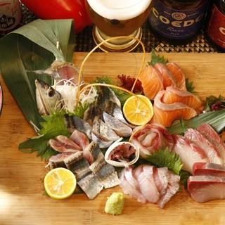 自信のある鮮度抜群の魚料理!発酵料理!
