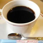 海舟寿し - 平日ランチのコーヒー。普通においしかったです。