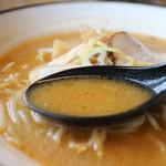 札幌らーめん すずらん - 味噌スープ