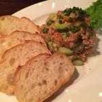 58819639 - 鮮魚のカルパッチョ。品数・ボリュームともに素晴らしいのはさることながら、味付けの塩梅も素敵です。
