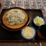 農村レストラン 関の里 - もりそば:660円