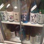 根魚 静 - 日本酒いろいろ。