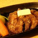 横浜すきずき - マグロほほ肉ステーキ 680円