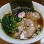 麺馬 - 料理写真:無科学調味料ラーメン