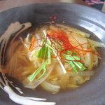 花鳥風月 花 - タラのスープ