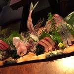 青木鮮魚店 - 刺身6点盛り とても新鮮で美味しい
