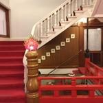 日光金谷ホテル - 建物内の階段