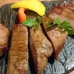 仙台牛タン 松阪鶏焼肉 福島西屋 - 極熟成厚切り牛タン焼のあっぷ♪
