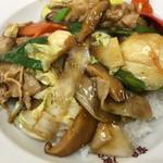 鶴廣 - 昔ながらの中華丼、750円。