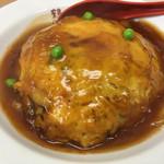 鶴廣 - 昔ながらの天津丼、850円。