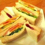 ブレンド - ハムエッグサンドイッチ!(2016,11/05)