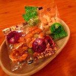 ブレンド - 各テーブルに備え付けのお菓子!(2016,11/05)