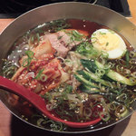 韓国苑 - 別府冷麺・並盛(699円・税抜)