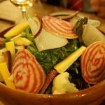 ラピヨッシュ - 自然なサラダ(1600円)