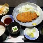 58824072 - トンカツ定食 780円→ランパス500円