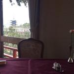 メインダイニングルーム 三笠 - 席からの眺め