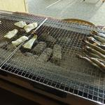サンペルラ志摩 - 干物は結構美味しかったですが、館内に臭いが充満^^;