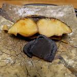くずし懐石 縁 - さばの味噌柚庵焼きとゆべし