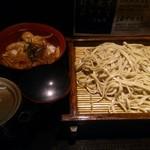 さ竹 - 小生姜焼き丼セット(\620)