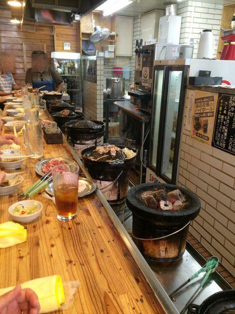 味の羊ヶ丘 - 【2016年08月】ジン鍋が並んでます。
