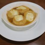 カフェ ブル - 里芋のニョッキ アンチョビ・バター、とろけるモッツァレラ・チーズ1