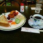 カフェレスト木鶏 - モーニング 680円